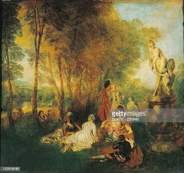 JeanAntoine Watteau The Festival of Love