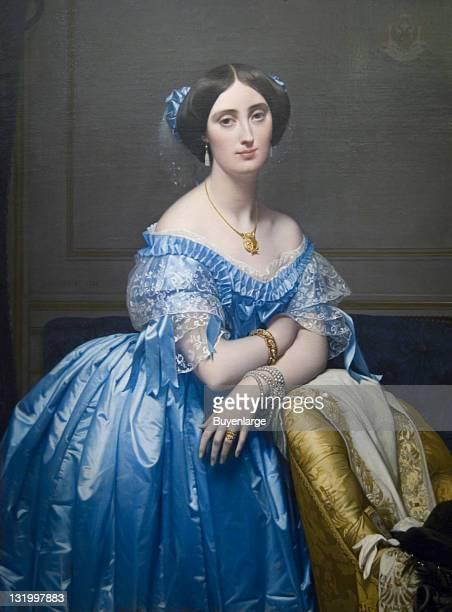 Jean-Auguste-Domenique Ingres's 'Josephine-Eleonore-Marie-Pauline de Galard de Brassac de Bearn, Princesse de Broglie,' 1853.