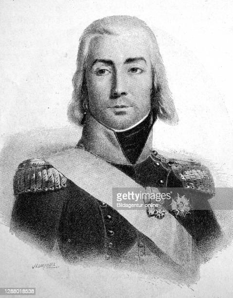 Jean-Baptiste Bessières , Duke of Istria, Maréchal d'Empire / Jean-Baptiste Bessières , Herzog von Istrien, Maréchal d'Empire, historical, digital...