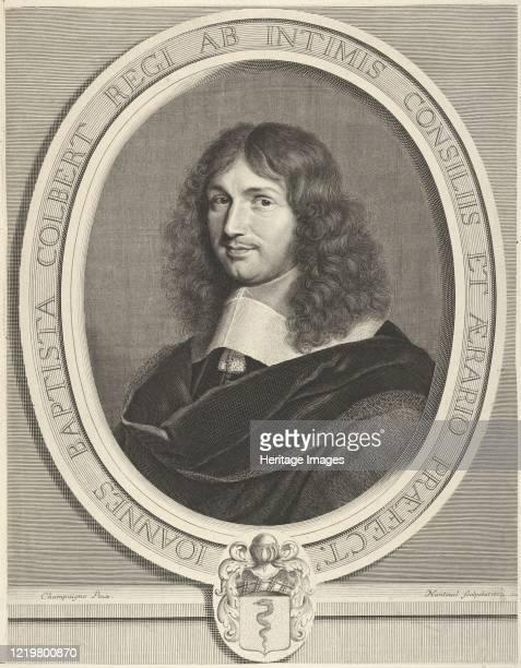 Jean-Baptiste Colbert, 1662. Artist Robert Nanteuil.