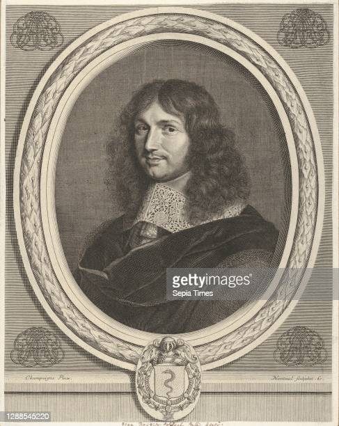 Jean-Baptiste Colbert Engraving; fourth state of four , Sheet: 12 1/2 × 9 3/4 in. , Prints, Robert Nanteuil , After Philippe de Champaigne .