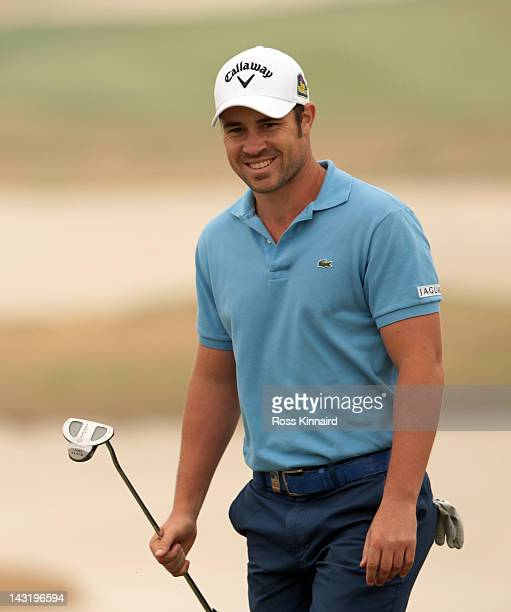 JeanBaptiste Gonnet of France during the third round of the Volvo China Open at the Binhai Lake Golf Course on April 21 2012 in Tianjin China
