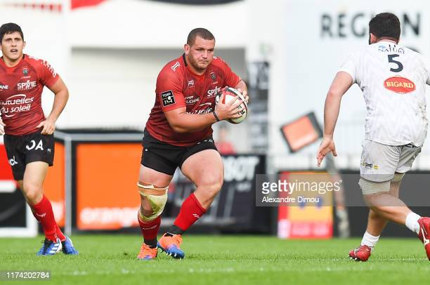 JeanBaptiste GROS of Toulon during the Top 14 match between Toulon and La Rochelle at Felix Mayol Stadium on October 6 2019 in Toulon France