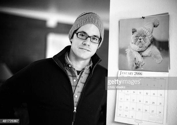 JeanBaptiste LaCroix of WireImagecom during Sundance Film Festival 2006 Retrospective in Black White by Chris Weeks in Park City Utah United States