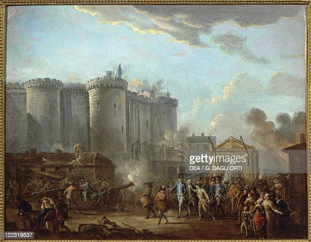 JeanBaptiste Lallemand The Arrest of the Governor of the Bastille 14th July 1789