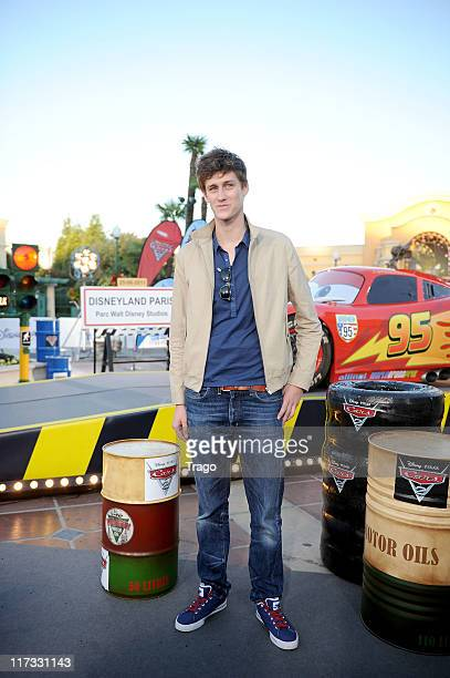 JeanBaptiste Maunier attends 'Cars 2' Premiere at Disneyland Paris on June 25 2011 in Paris France