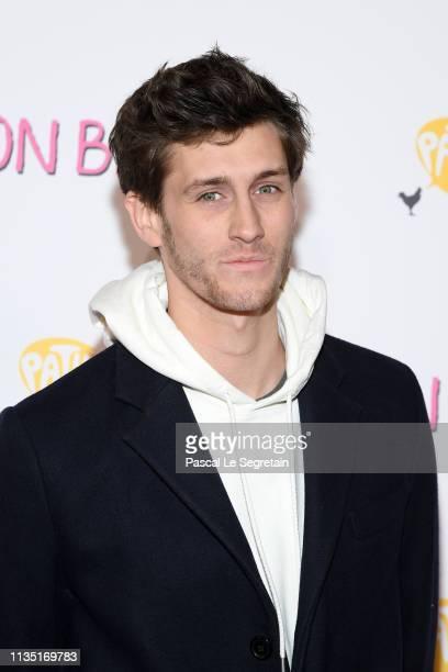 JeanBaptiste Maunier attends the Mon Bebe Paris Premiere At Cinema Gaumont on March 11 2019 in Paris France