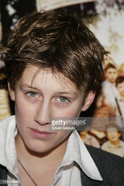 JeanBaptiste Maunier during Miramax screening of The Chorus at Florence Gould Hall in New York New York United States