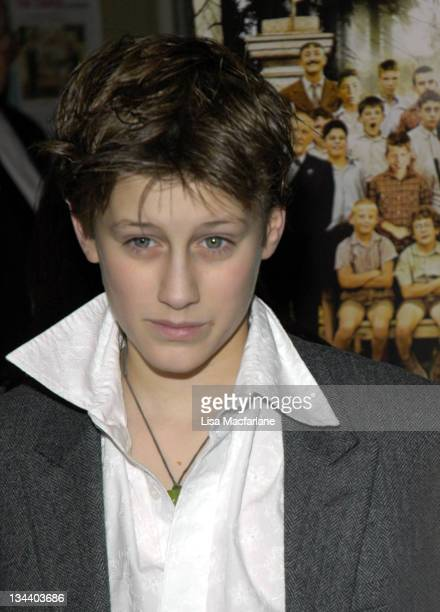 JeanBaptiste Maunier during 'The Chorus ' New York City Premiere at Florence Gould Hall in New York City New York United States