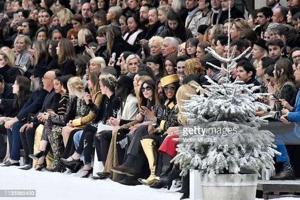 Jean-Baptiste Mondino, Naomi Diaz, Nana Komatsu, Ellie Bamber, Elisa Sednaoui, Marine Vacth, a guest, Kristen Stewart, Janelle Monae, a guest, Liu...