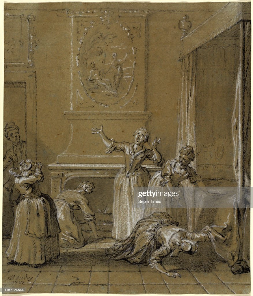 Jean-Baptiste Oudry, We find the dead body of the host that