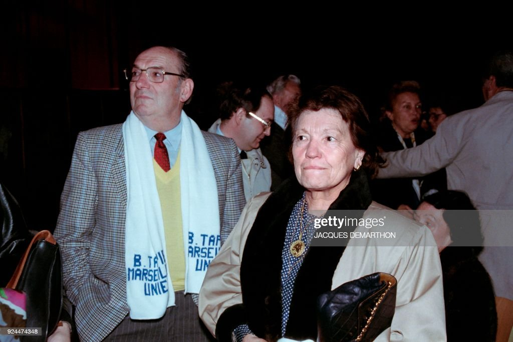 Jean Baptiste Tapie And Raymonde Tapie Parents Of French Deputy Of Photo D Actualite Getty Images