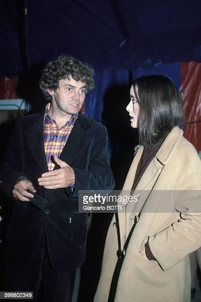 JeanBaptiste Thierrée et son épouse Victoria Chaplin circa 1970 en France