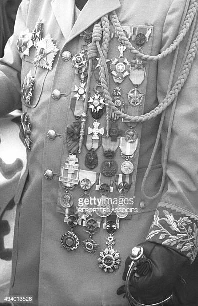 JeanBedel Bokassa président de la République Centrafricaine circa 1960