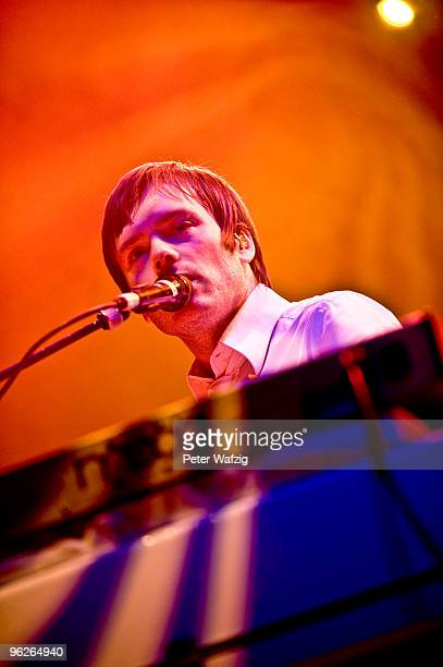 JeanBenoit Dunckel of Air performs on stage at the Palladium on January 29 2010 in Cologne Germany