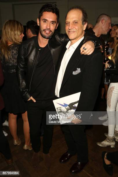 JeanBernard FernandezVersini and Gary Michael Walters attend the launch of 'The Fall' Issue One hosted by Andre Howard Gayle at The Groucho Club on...