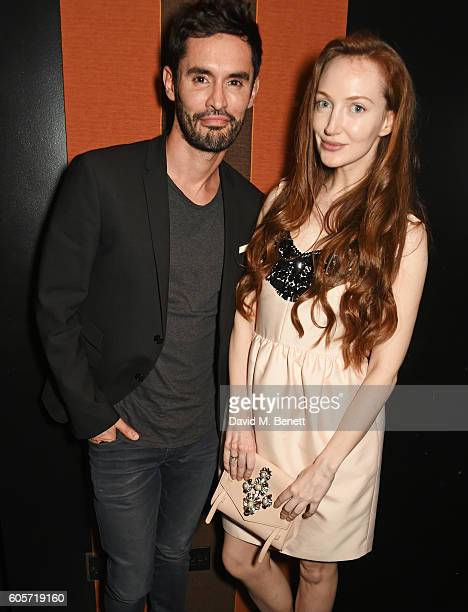JeanBernard FernandezVersini and Olivia Grant attend as Blakes hotel celebrates the launch of Blakes Below a luxury bar and lounge designed by...