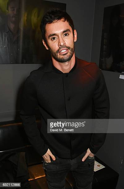 JeanBernard FernandezVersini attends a private view of 'Emotion In Motion' an exhibition by fashion photographer Erica Bergsmeds at The Den at 100...