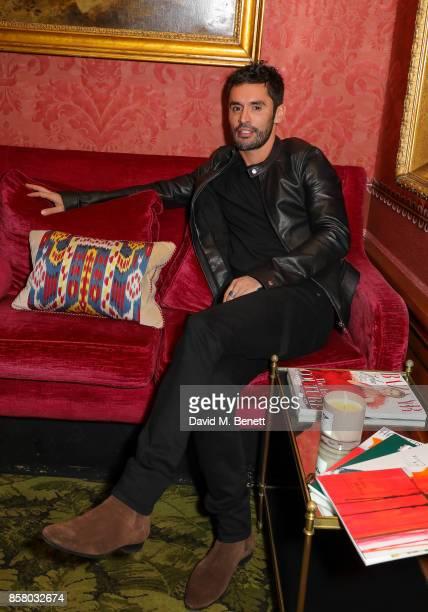 JeanBernard FernandezVersini attends the launch of Bazaar Art published in association with Bentley Mark's Club on October 5 2017 in London England