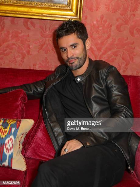 JeanBernard FernandezVersini attends the launch of Bazaar Art published in association with Bentley Mark's Club on October 5 2017 in London England