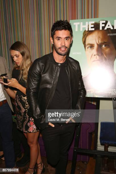 JeanBernard FernandezVersini attends the launch of 'The Fall' Issue One hosted by Andre Howard Gayle at The Groucho Club on October 5 2017 in London...