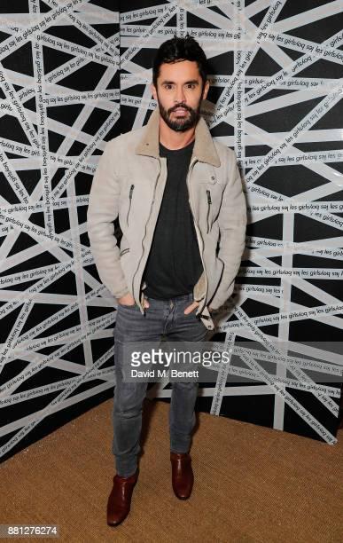 JeanBernard FernandezVersini attends the Les Girls Les Boys festive party at Mahiki Kensington on November 28 2017 in London England