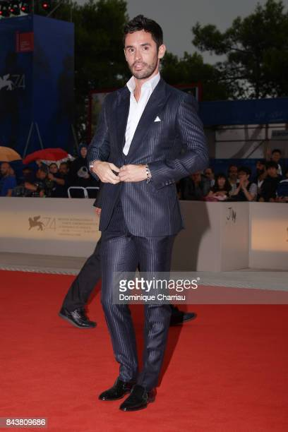 JeanBernard FernandezVersini walks the red carpet ahead of the 'Mektoub My Love Canto Uno' screening during the 74th Venice Film Festival at Sala...