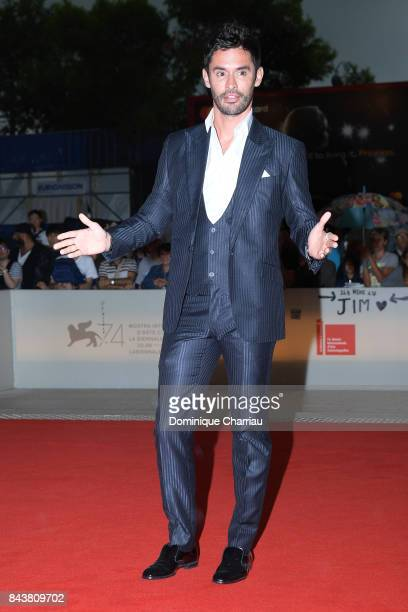 JeanBernard FernandezVersini walks the red carpet ahead of the 'Mektoub My Love Canto Uno' screening during the 74th Venice Film Festival at Sala...