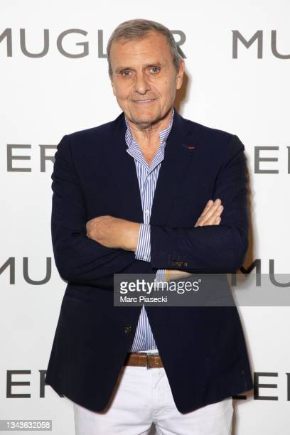 """Jean-Charles de Castelbajac attends the """"Thierry Mugler : Couturissime"""" Photocall as part of Paris Fashion Week at Musee Des Arts Decoratifs on..."""