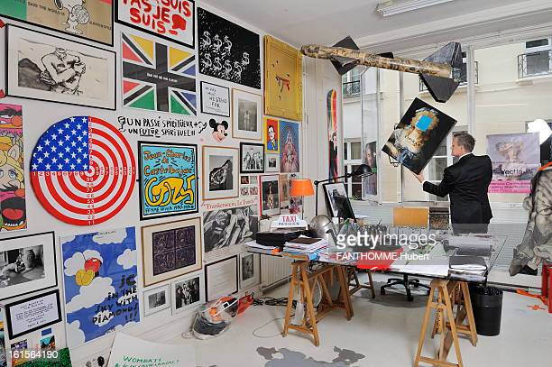 JeanCharles De Castelbajac Presents Its Latest Paintings In The Exhibition 'The Tyranny Of Beauty' In Paris Paris September 7 2010 JeanCharles DE...