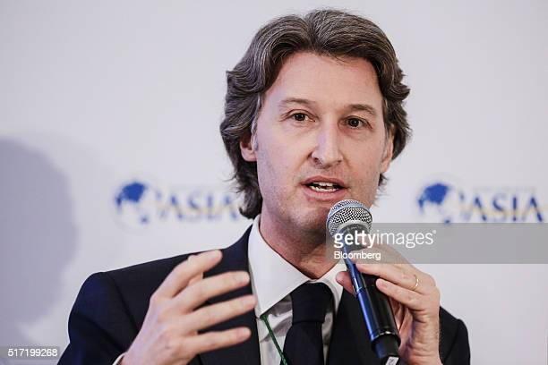 JeanCharles Decaux cochief executive officer of JCDecaux SA speaks during the Boao Forum For Asia Annual Conference in Boao China on Thursday March...