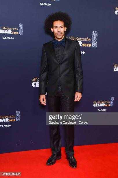 Jean-Charles Mbotti Malolo arrives at the Cesar Film Awards 2020 Ceremony At Salle Pleyel In Paris on February 28, 2020 in Paris, France.