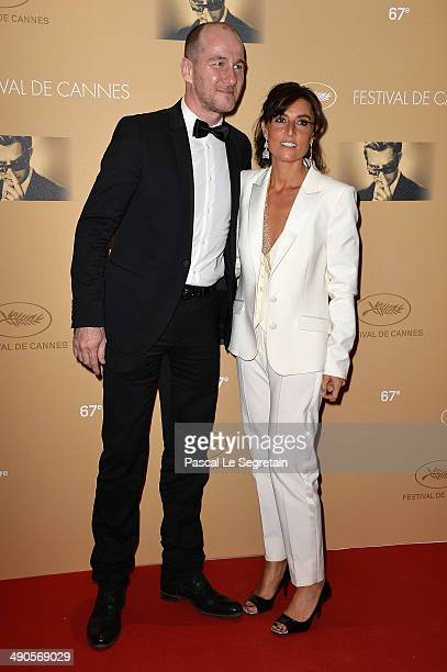 JeanCharles Sabattier and Nathalie Iannetta attend the Opening Ceremony dinner during the 67th Annual Cannes Film Festival on May 14 2014 in Cannes...