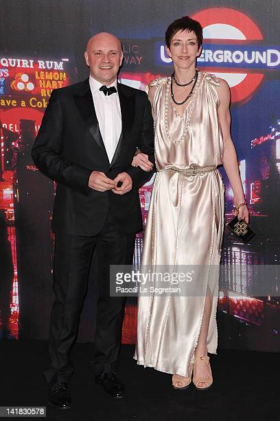 JeanChristophe Maillot and guest attend the 'Swinging London' Monaco Rose Ball 2012 at Sporting MonteCarlo on March 24 2012 in MonteCarlo Monaco