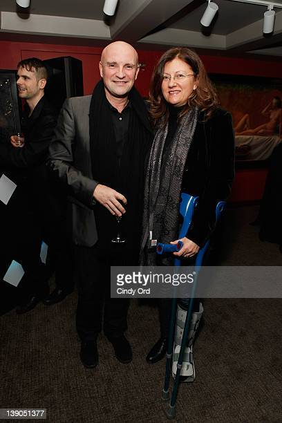 JeanChristophe Maillot and Silas Shabelewska attend Monaco's Consulate General And Tourist Office In NY Celebrate Opening Night Of Les Ballets De...