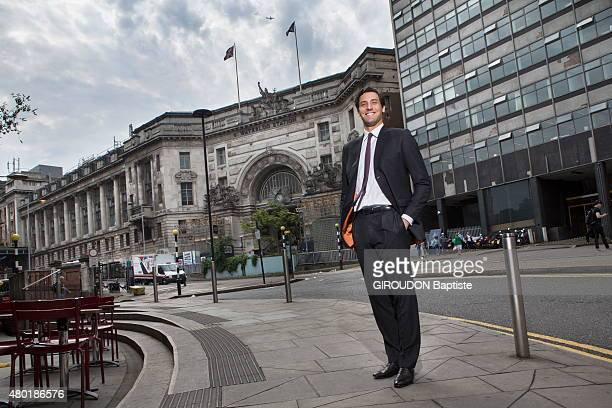 JeanChristophe Napoleon Bonaparte a descendant of Jerome Bonaparte Napoleon's brother poses in London where he works in a investment group on June 05...