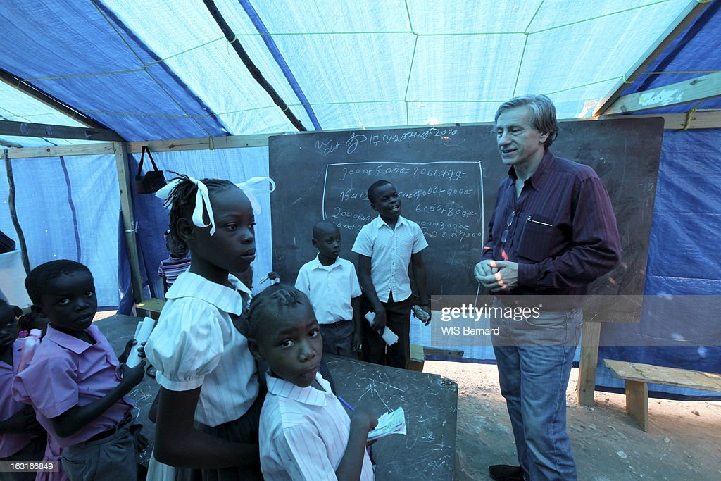 JeanChristophe Rufin In Haiti Pictures Getty Images - Paris port au prince