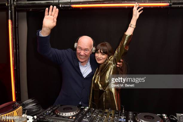JeanClaude Biver and Zara Martin attend The Watch Gallery and Hublot launch introducing the Limited Edition Classic Fusion Aerofusion Chronograph at...
