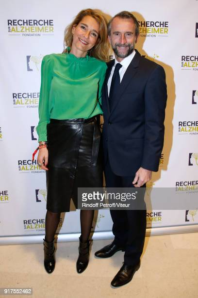 JeanClaude Blanc and his wife attend the Charity Gala against Alzheimer's disease at Salle Pleyel on February 12 2018 in Paris France