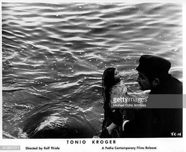 JeanClaude Brialy as Tonio Kroeger finds a doll in a scene from the movie Tonio Kroeger circa 1964