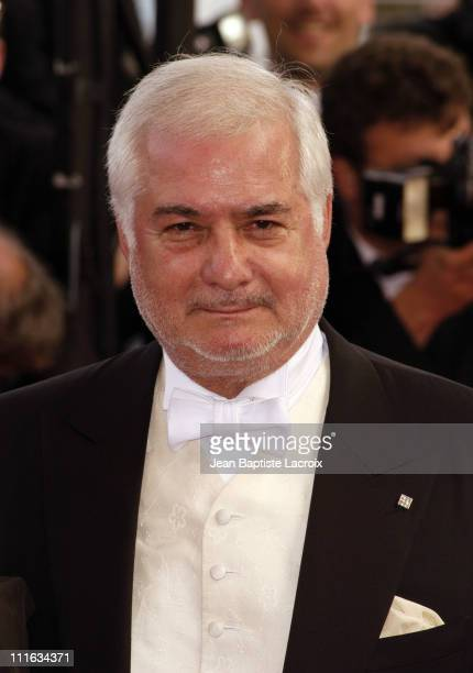 JeanClaude Brialy during 2003 Cannes Film Festival Closing Ceremony Arrivals at Palais des Festivals in Cannes France