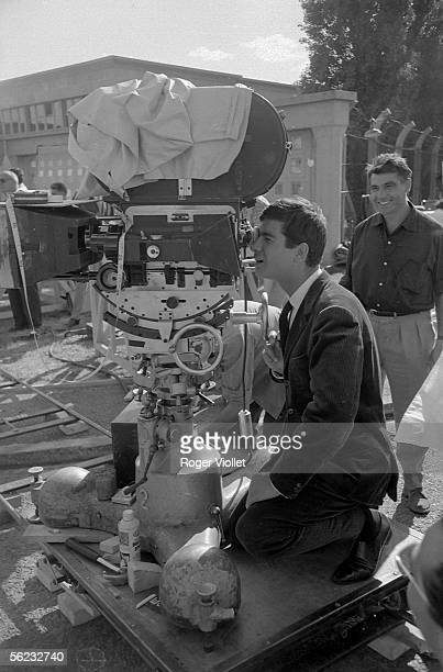 JeanClaude Brialy French actor on a shooting France HA2200