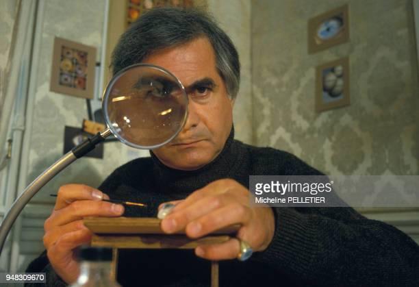 JeanClaude Brialy lors du tournage du film 'Inspecteur Lavardin' réalisé par Claude Chabrol en octobre 1985 à Dinard France