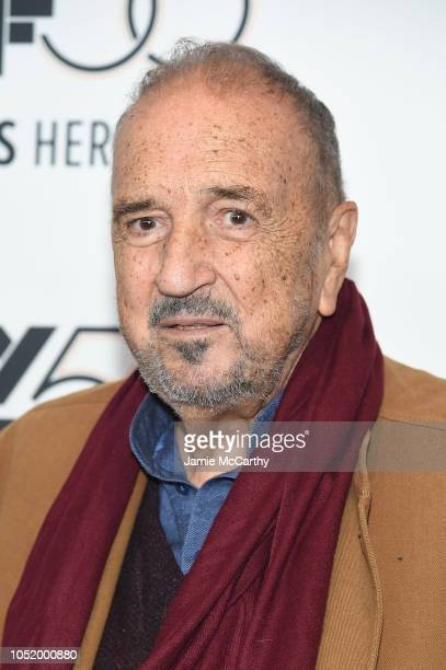 JeanClaude Carriere attends the 'At Eternity's Gate' premiere during the 56th New York Film Festival at Alice Tully Hall Lincoln Center on October 12...
