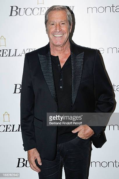 Jean-Claude Darmon attends the Buccellati Blossom Butterfly and Daisy new collection presentation with the 4th generation of the Buccellati family at...