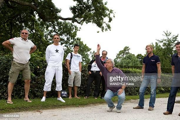 JeanClaude Dassier On Holiday In The Basin Of Arcachon JeanClaude DASSIER le nouveau président de l'Olympique de Marseille en vacances dans le bassin...