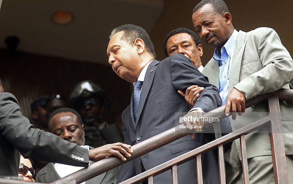 "Former Haitian Dictator ""Baby Doc"" Duvalier Taken Into Custody"