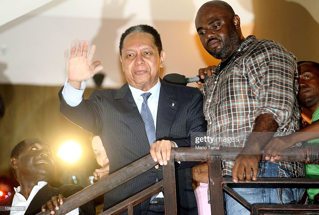 """Baby Doc"" Duvalier Returns To Haiti After 25 Years In Exile"