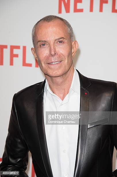 JeanClaude Jitrois attends the 'Netflix' Launch Party At Le Faust In Paris on September 15 2014 in Paris France