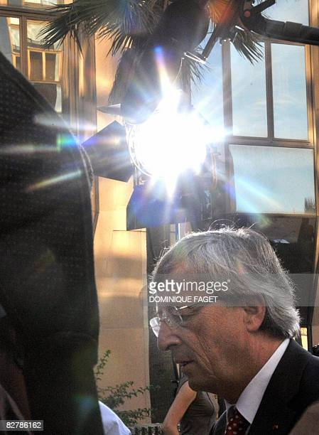 JeanClaude Juncker president of Eurogroup and Prime Minister of Luxembourg arrives on September 12 prior a meeting of Finance Ministers of the...